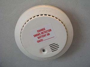 Hard-Wired Smoke Detectors