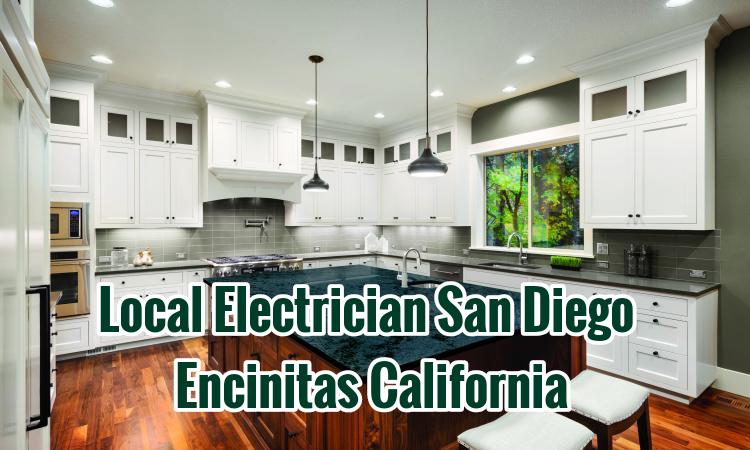 Local Electrician San Diego Encinitas California
