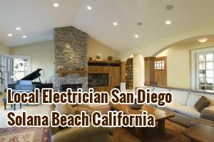 Local Electrician San Diego Solana Beach California
