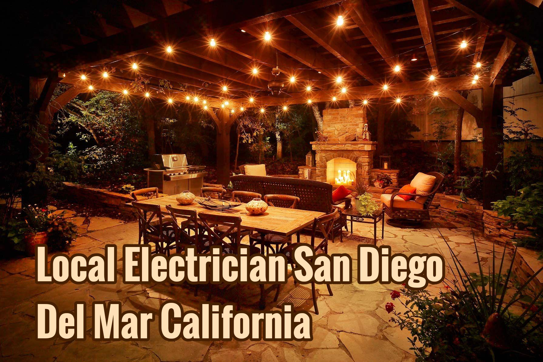 Local Electrician San Diego Del Mar California