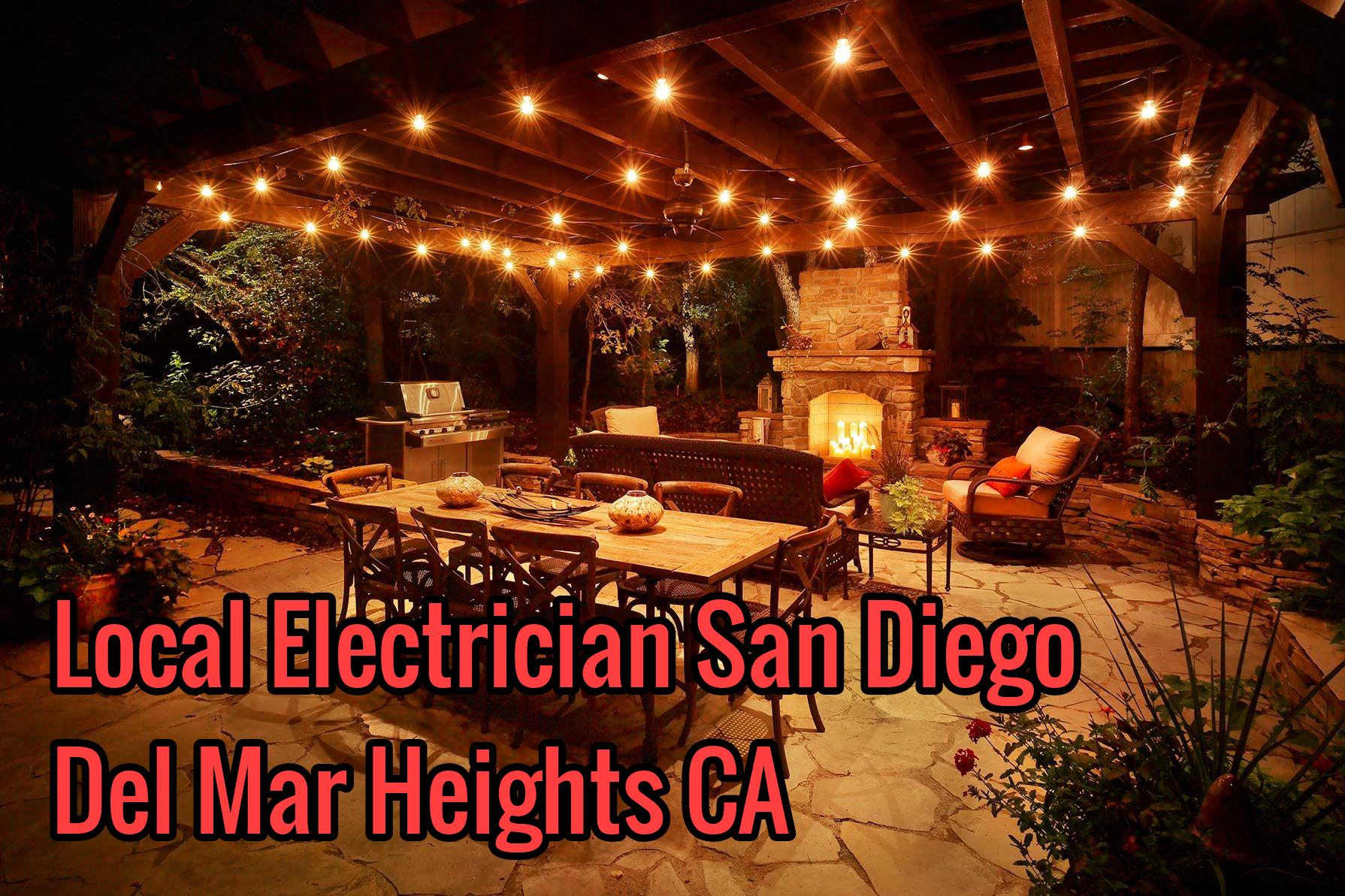 Local Electrician San Diego Del Mar Heights CA