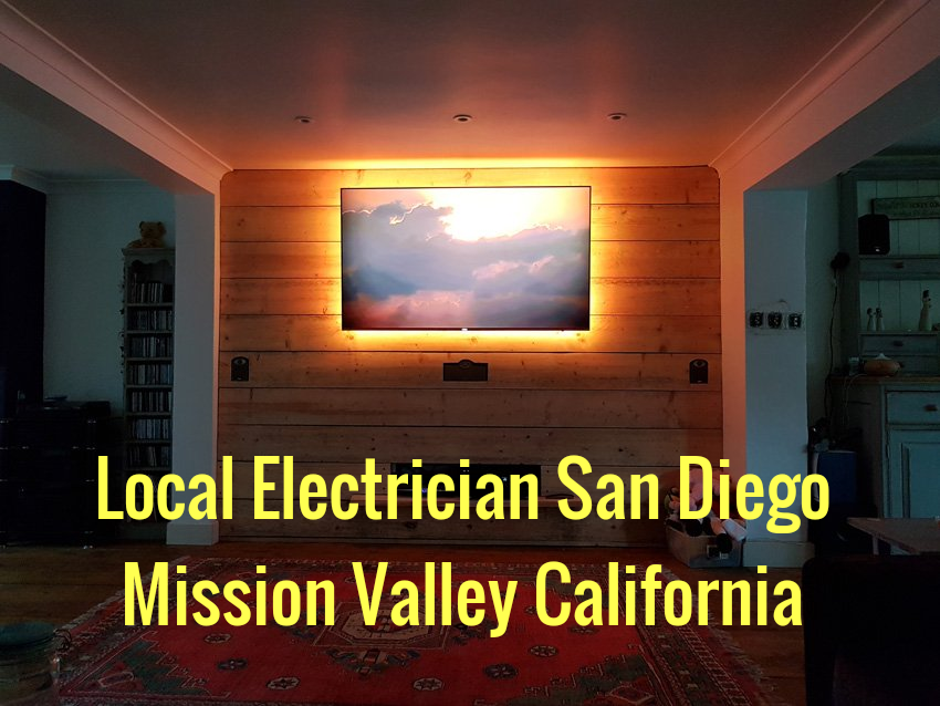 Local Electrician San Diego Mission Valley California