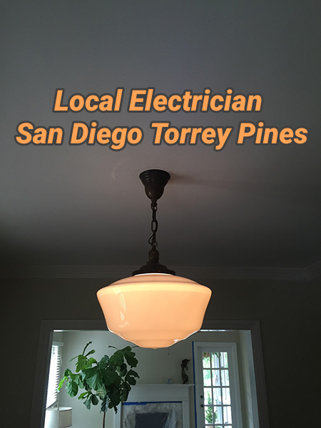 Local Electrician San Diego Torrey Pines