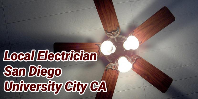 Local Electrician San Diego University City CA