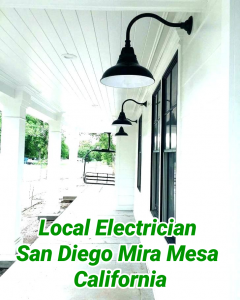 Local Electrician San Diego Mira Mesa California