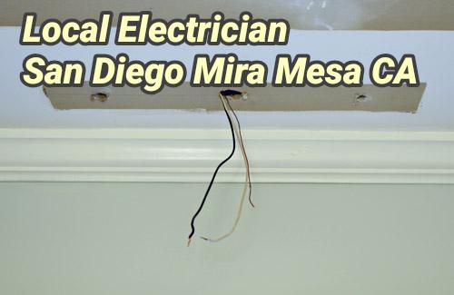 Local Electrician San Diego Mira Mesa CA