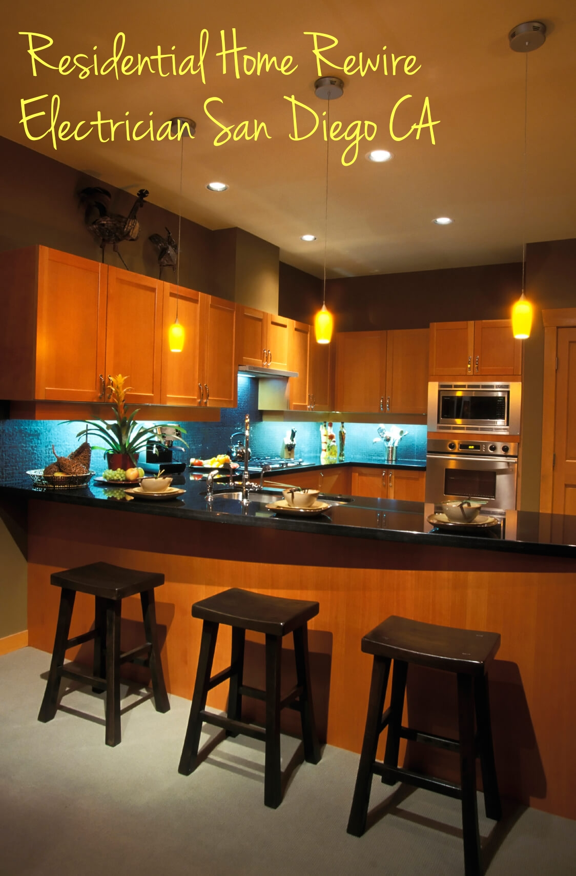 Residential Home Rewire Electrician San Diego CA