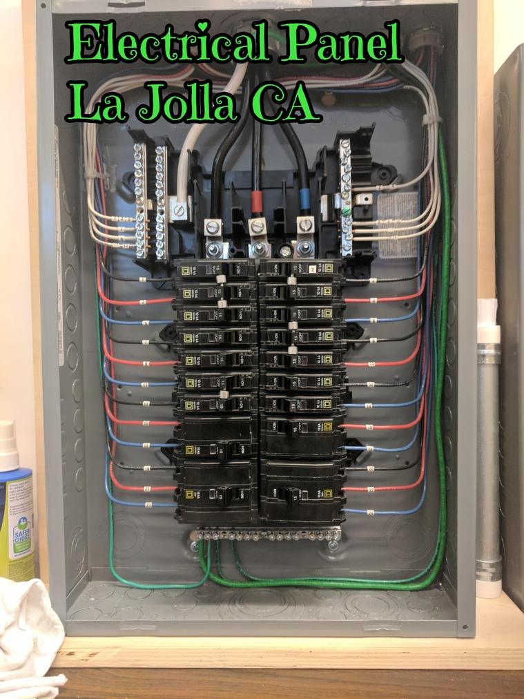 Electrical Panel La Jolla CA