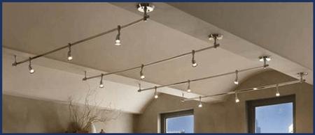 track lighting installation